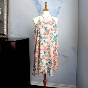 Anthropologie Paper Crane Sleeveless Dress Japan